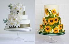 Deliciously Distinctive Wedding Cakes by Krishanthi | OMG I'm Getting Married UK Wedding Blog | UK Wedding Design and Inspiration for the fabulous and fashion forward bride to be.