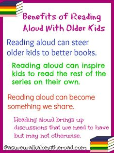 As We Walk Along the Road: Read Aloud Wednesdays: But, I Don't Need To Read Aloud to My Older Kids Do I? #reading aloud is fun and beneficial with your older #kids and #teens.