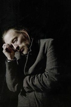 Thom Yorke Photo session - By Eliot Lee Hazel - LA, 2013-01-14