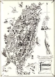 Time to go home. WWII Formosa (Taiwan) Map