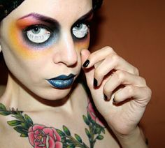 Scary Halloween Decorations Ideas | Last minute halloween make up | Mode, astuces, adresses et bonne ...