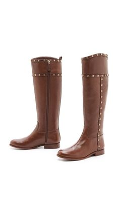 Studded boots by Tory Burch. Can I just have a pair of these boots already, please?