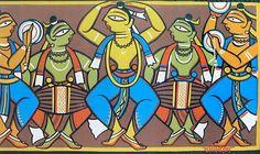 Art by Jamini Roy: Bengali Artist of Modern India
