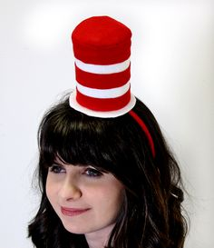 DIY Cat in the Hat Hat