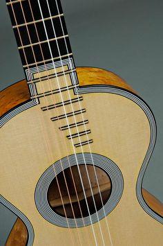 Lacote guitar (historical copy)