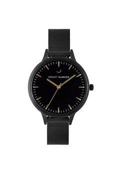 Violet Hamden Nowness Black Iron Black Daniel Wellington, Iron, Watches, Accessories, Black, Wrist Watches, Wristwatches, Black People, Tag Watches