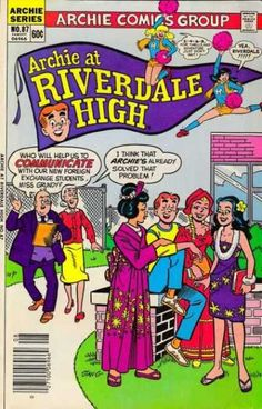 A cover gallery for the comic book Archie at Riverdale High Infinite Earths, Archie Comics, Comic Book Covers, Dark Night, Vintage Ads, The Darkest, Magazines, Illustrations, Books