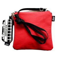 Miss Leather, Tram (punainen nahka, Vallila) #MakersAndDoers #inspiration #fashion
