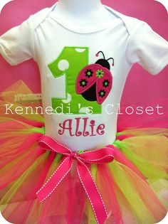 1st bday party/tutu outfit