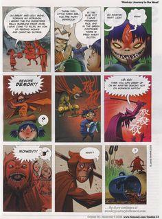 MOnkey: Journey to the West Jaime Hewlett … Comic Book Artists, Comic Books Art, Comic Art, Monkey Art, Monkey King, Jamie Hewlett Art Book, Drawing Proportions, Gorillaz Art, Journey To The West
