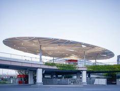 Built by Ingo Schrader Architekt in Frankfurt, Germany with date 2013. Images by Christian Richters. The German Design Council has announced the Tor Nord on the premises of the Messe Frankfurt as winning project of the...