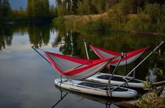 This floating hammock is your new favorite lake accessory. http://www.wideopencountry.com/this-floating-hammock-is-your-new-favorite-lake-accessory/