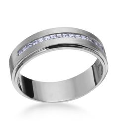 Jeff Cooper - Luxury Platinum 6mm Men's Wedding Band