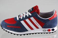 adidas Originals LA Trainer | Red / Blue - EU Kicks: Sneaker Magazine