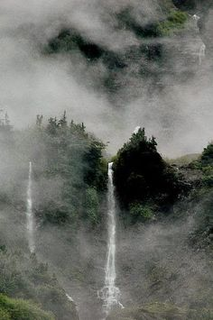 """Enchanted Valley, Olympic National Park Most Beautiful Places to Visit in Washington"""" via thecrazytourist Places To Travel, Places To See, Foto Picture, Magic Places, Les Cascades, All Nature, Beautiful Places To Visit, Amazing Places, Adventure Is Out There"""
