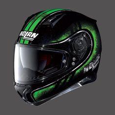 Casco Moto NOLAN N87 METAL BLACK GREEN
