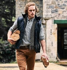 Here are new pictures of Sam Heughan for Barbour See more pictures after the…