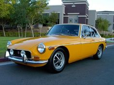 I drove a 1969 MGB GT on our first date...We are still married 24 years later...was it me...or, the car?