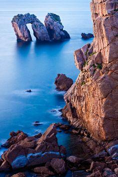 No Fiestra Mar, Vigo Galicia, Espana. Dicen que hay brujas y magia aqui. Es una parte de su historia celta.
