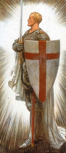 Happy Saint Georges Day - Stop Voting for Anglophobic Politicians Knights Hospitaller, Knights Templar, Happy St George's Day, Patron Saint Of England, St George Flag, Saint George And The Dragon, St Georges Day, Saints Days, British Traditions