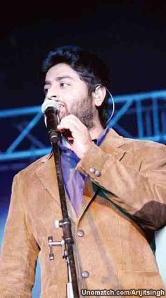 Arijit Singh (born 25 April 1987 in Jiaganj, Murshidabad), is an Indian playback singer. He was a participant in one of the reality-singing series, Fame Gurukul in 2005 and became an assistant to music director Pritam. like : http://www.Unomatch.com/Arijitsingh/