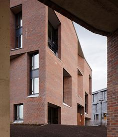 University of Limerick medical school and dormitory. Limerick, Ireland. Grafton Architects.2012.