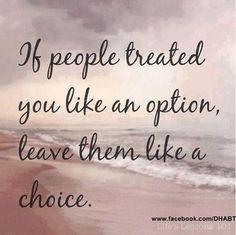 Quote option | Choice | Optie | Keuze
