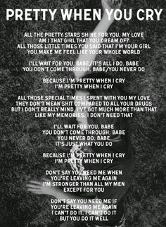 Lana Del Rey #LDR #lyrics #Pretty_When_You_Cry