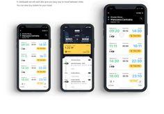 Jakdojade - Public & Intercity Transport app on Behance Ios App Design, Web Ui Design, Dashboard Design, Interface Design, Mobile Application Design, Mobile Ui Design, Coin App, To Do App, Ticket Design