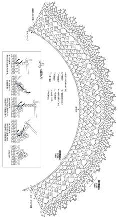 Irresistible Embroidery Patterns, Designs and Ideas. Awe Inspiring Irresistible Embroidery Patterns, Designs and Ideas. Crochet Collar Pattern, Col Crochet, Crochet Lace Collar, Crochet Lace Edging, Crochet Lace Dress, Crochet Shawl, Crochet Doilies, Crochet Flowers, Crochet Stitches