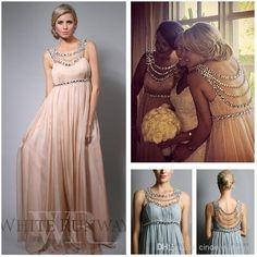 Wholesale Jennifer Lopez Evening - Buy 2015 Jennifer Lopez Chiffon Beach Bridesmaid Dresses Scoop Empire Full Length Evening Gowns Maternity Plus Size Party Dress, $111.14 | DHgate.com