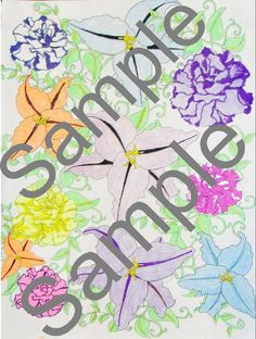 Stress Relief Coloring Page Digital by Bsmagnetsandcrafts on Etsy