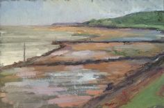 Kemp 2015 – The colours of low tide, 20×30, oil on panel, €200, werkvankemp.nl