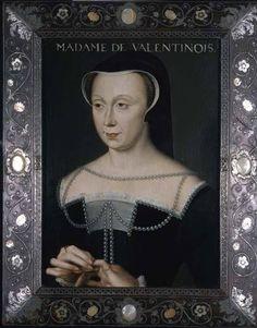 François Clouet - Madame de Valentinois
