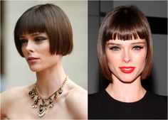 The 20 Hottest Bob Hairstyles for 2015: Coco Rocha's Sleek Sophisticated Bob