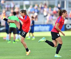 Tobin Heath # Alex Morgan 06.02.15