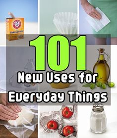 Diy Projects: 101 New Uses for Everyday Things