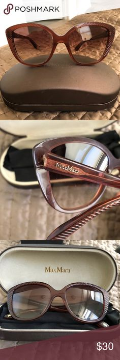 Maxmara Sunglasses Brown color, model: cat MaxMara Accessories Sunglasses