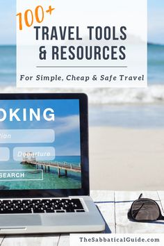 100+ Travel Tools and Resources for simple, cheap and safe travel. Including travel and destination planning, travel booking resources for finding accommodation, booking cheap flights and travel insurance. Also includes tips for travelling safely, finding local tours and great travel gears. A section for travel bloggers looks at my favourite travel blogging tools.