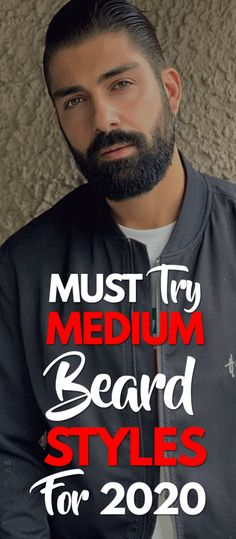 5 Cool Medium Beard Trends for 2020 Source by theunstitchd Medium Beard Styles, Latest Beard Styles, Beard Styles For Men, Beard Trend, Bearded Dragon Habitat, Beard Quotes, Shaving Tips, Hipster Beard, Short Beard