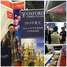 Having a great time in China for the China #EducationExpo. Next and final stop is Chengdu on 13 November. If you're attending the Expo, be sure to drop by our stall and say hello! Students who sign up for one of our 2014 #summercollege programmes at the Expo will receive an exclusive discount of $855 USD.  http://www.chinaeducationexpo.com/