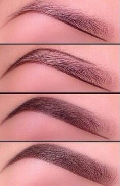 Steps for a perfect eyebrow
