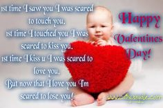 Share this on WhatsAppEach year, hundreds of people across the world send valentines day greetings via regular mail and electronic cards to express their love [. Valentine's Day Card Messages, Valentines Day Messages, Valentines Day Greetings, Funny Messages, Funny Valentine, Happy Valentines Day, Scared Of Losing You, I Am Scared, Game Gratis