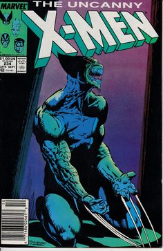 Uncanny X-Men 234 November 1988 Issue Marvel by ViewObscura