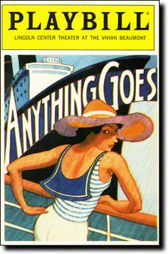 September 3, 1989: The first Broadway revival of Anything Goes (starring Patti LuPone) ended its Broadway run