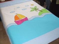 Resultado de imagen para pikede aplike nasıl yapılır Teen Bedding, Baby Bedding Sets, Baby Pillows, Hobbies And Crafts, Diy And Crafts, Bebe Baby, Baby Needs, Baby Quilts, Bed Sheets