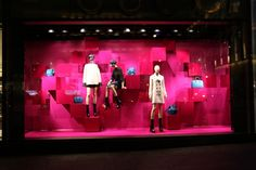 """GUCCI New York, """"It's a Pink Affair"""", pinned by Ton van der Veer"""