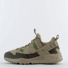 16e645ca6cbe Nike Air Huarache Utility Mens Casual Trainers Shoes Sneakers Camo  Khaki Olive… Net s Napajaree