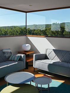 El Topo observatory. Dwell Magazine featuring the Gus Thatcher Sofa!