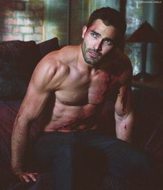 Tyler Hochelin as Derek Hale!!!!! this picture i love........love it.